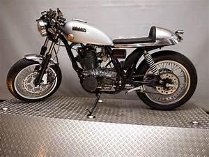 Racing Caf U00e8  Yamaha Sr 500 Caf U00e8 Racer By Kingston Custom