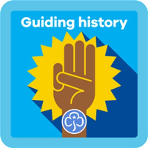 NEW Guide Guiding History Interest Badge