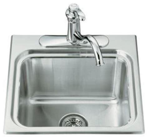 designer kitchen sink kohler k 3260 1 na ballad self utility sink with 3260