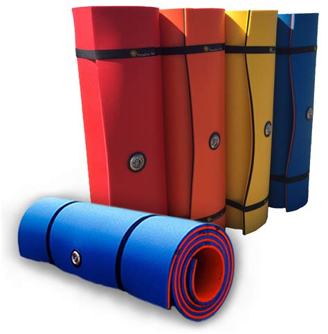 Boat Dock Pads by Colorful Foam Water Pads Paradisepad Flotation Systems
