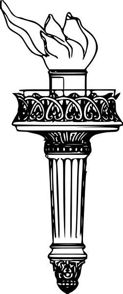 fileliberty torch drawingsvg wikimedia commons