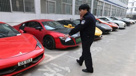 Hong Kong Luxury Car Owners Arrested In Shenzhen In China
