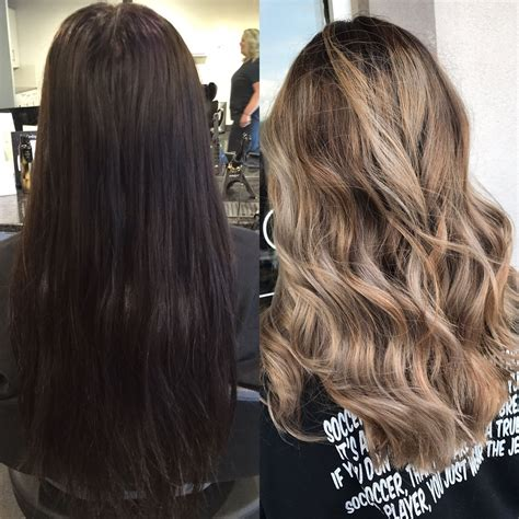 Hair Color Transformation Before And After Hair Color