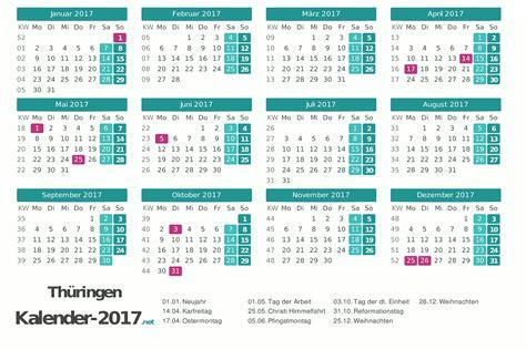 kalender thueringen