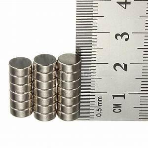Köp 20 st Rare Earth Neodymiummagneter N50 7mm Diameter X ...