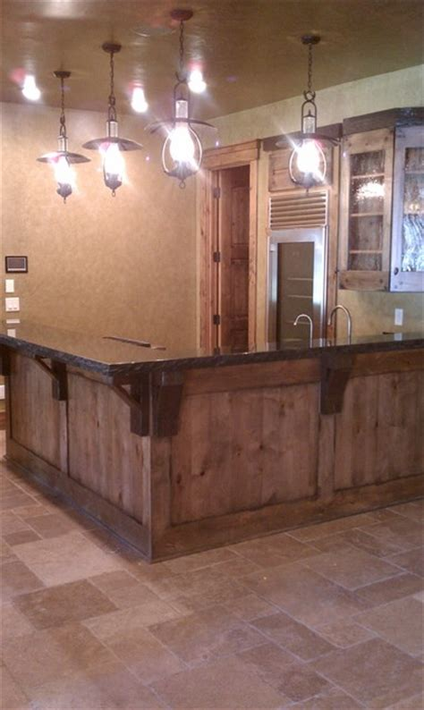 basement bar ideas miners bar rustic basement cleveland by caves Rustic