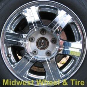 2005 Chrysler Pacifica Tire Size by Chrysler Pacifica 2004 Oem Alloy Wheels Midwest Wheel Tire
