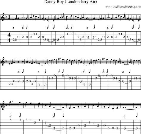 Oh Danny Boy Guitar Chords