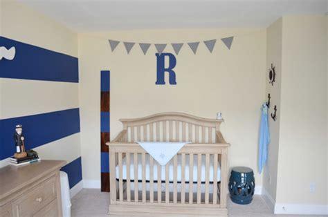 dormitorio de bebe de estilo marinero decoracion bebes