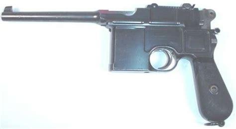 German,c98 Ww1 Pistol Image