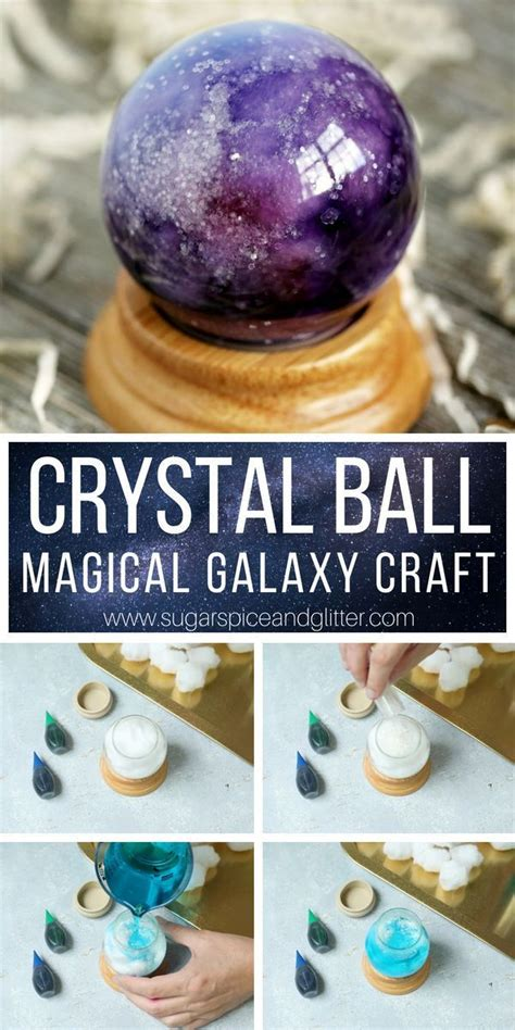 magical crystal ball craft  kids  takes