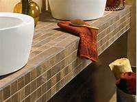 tile counter tops Tile Countertop Buying Guide | HGTV