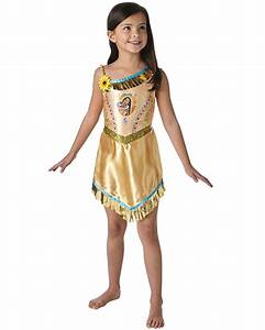 fairytale pocahontas girls costume kids costumes With robe indienne fille