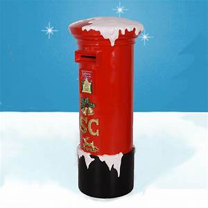 heinimex fiberglass santa mailbox 56in With christmas letter box