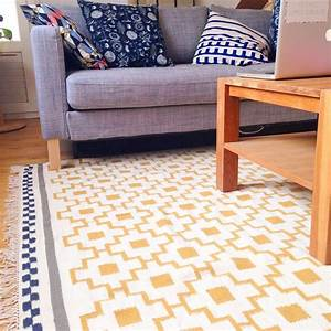 Tapis Jaune Et Bleu : un amour de tapis ikea scandinave patterns d co ~ Dailycaller-alerts.com Idées de Décoration