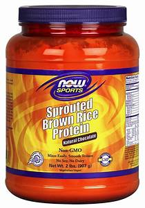 Sprouted Brown Rice Protein  Chocolate Powder
