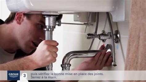 Installation Robinet by Comment Installer Facilement Un Mitigeur Lavabo