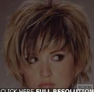 coupe de cheveux carrã court coiffure degrade effile court