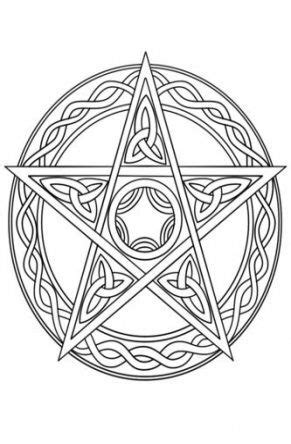 Pin by Jennifer Vigil on coloring pages | Witch coloring pages, Celtic coloring