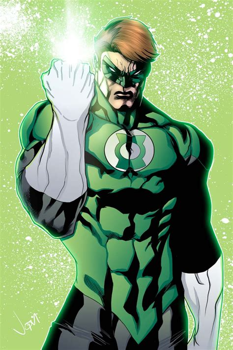 comics forever hal as green lantern artwork by