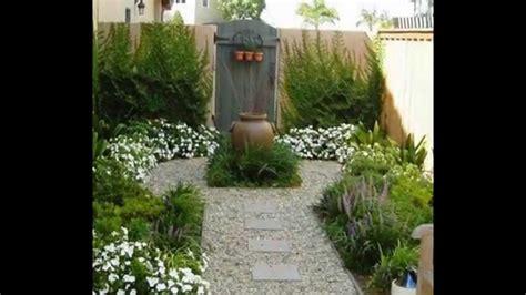 ideas  disenar  decorar jardines pequenos youtube