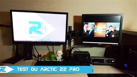 support ecran pc bureau arctic z2 pro test support écran pour