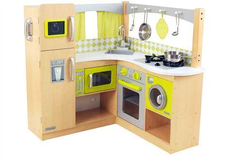 jouets cuisine cuisine d 39 angle en bois jouet cuisine kidkraft espresso