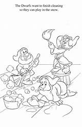 Quiver Enanos Colorare Prinzessin Augmented Getcolorings Coloringdisney Nani Sette Blancanieves Biancaneve Schneewittchen sketch template