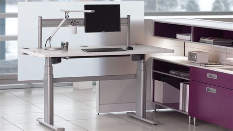 vl2 series standing desk series 5 electric office table workstation steelcase