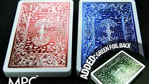 Html5 Browser Support Chart 2015 Impressions Metallic Foil Stamped Playing Cards By Make