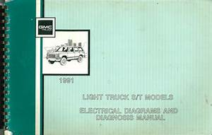 1991 Gmc S15 Sonoma Pickup Jimmy Wiring Diagram Manual