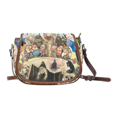 vintage snow white princess saddle bag crossbody shoulder bag purse ebay