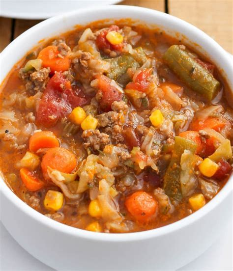 Best Old Fashioned Vegetable Beef Soup Recipe   Besto Blog
