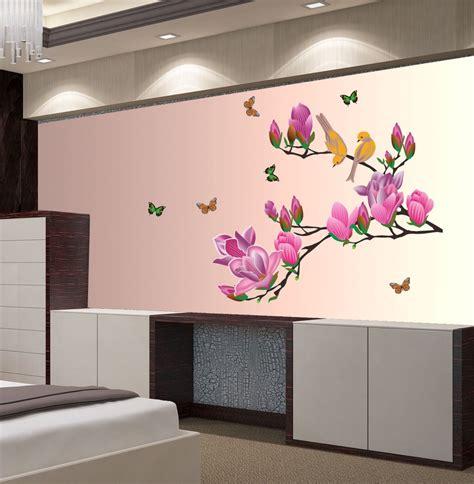decals wall sticker floral botanical wallpaper
