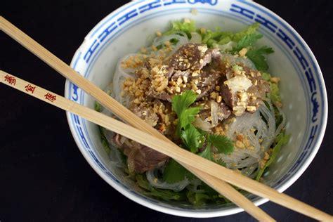 fondue vietnamienne cuisine asiatique bo bun recette de bo bun par chef simon