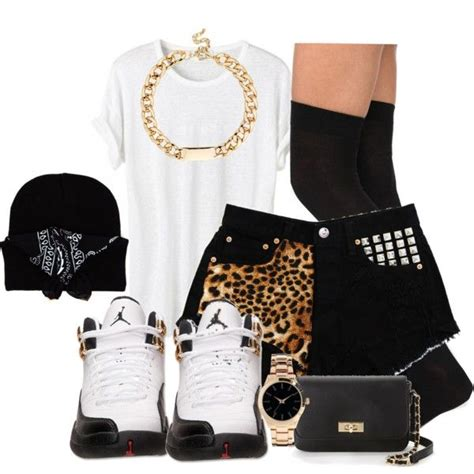 Ghetto Fashion created by rayray669 on Polyvore | Girl swagg | Pinterest | Polyvore Fashion ...
