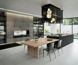 kche modern mit kochinsel sophisticated contemporary kitchens with cutting edge design