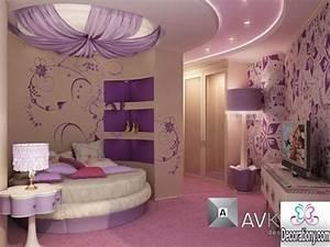 30 feminine room ideas for teen girls decoration y With girls bedroom purple decorating ideas