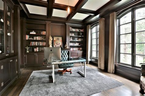 sophisticated traditional home office designs  work  style