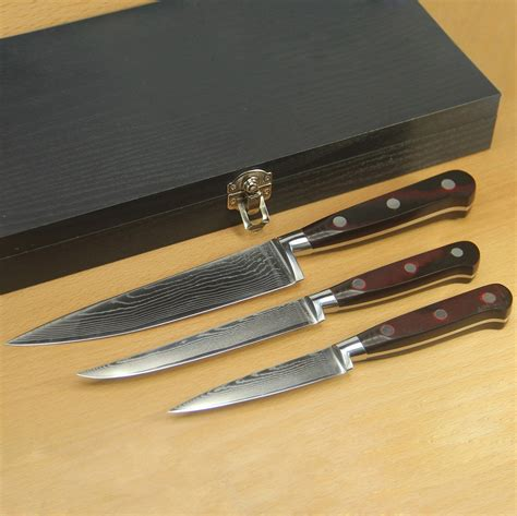 set of kitchen knives authentic damascus three sets of a full set of kitchen knife cutter or knife set yangjiang high