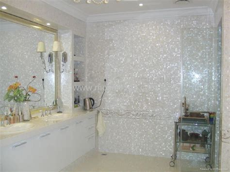 glass tile kitchen backsplash white freshwater of pearl tile pm001 g gimare