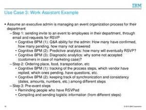 smart objectives for administrative assistant exles towards cognitive bpm as a platform for smart process support un