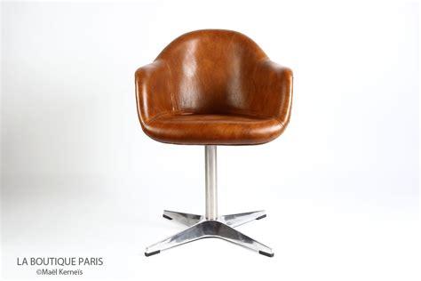 fauteuil bureau vintage cuir images