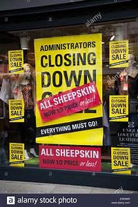 Shop Closed Closure Notice Stock Photos  U0026 Shop Closed Closure Notice Stock Images