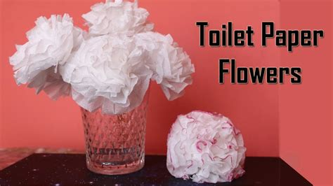 diy toilet paper flower centerpiece ideas wedding