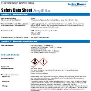 safety data sheets resources lehigh hanson inc