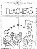 Coloring Teachers Heroes Ministry Children Teacher God Mandy Samuel Hears Groce sketch template