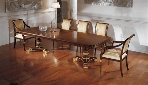 formal italian dining table chairs mondital
