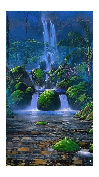 Nature Places Visit Swiat Cudowny Waterfalls Wonderful