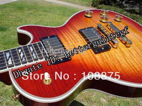 Best China Guitar Deluxe Model Supreme Heritage Flametop